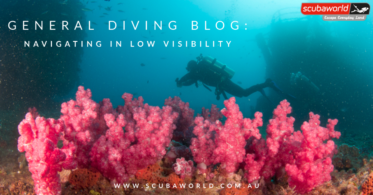 GENERAL DIVING: Navigating in Low Visibility